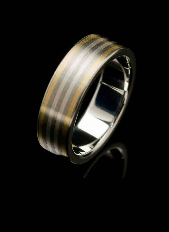 stainless steel gold ring rs8ywwy