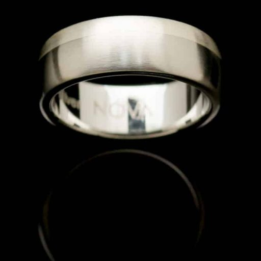 stainless steel silver ring rs5silre