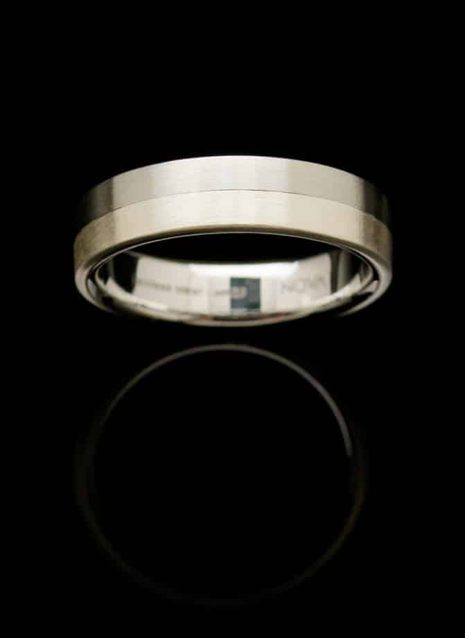 stainless steel silver ring rs5silsm