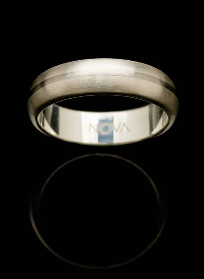 stainless steel silver ring rs32csil