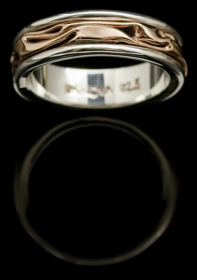 rose gold ring r42rsm