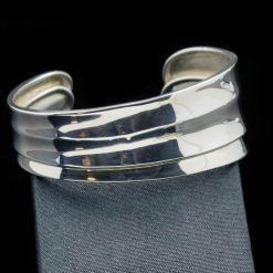 Sterling Silver 925 c-round Bracelet (BR64)