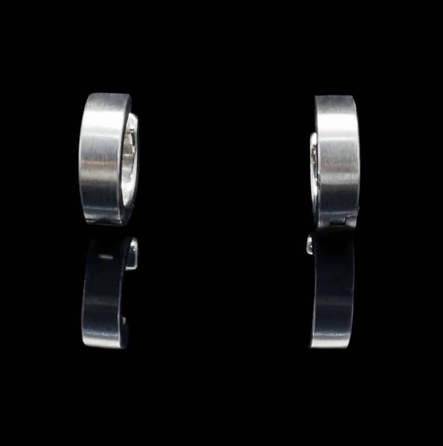 Stainless Steel Earrings Brushed Finish (ER92 md)