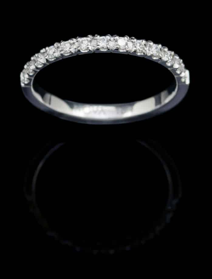 18K White Gold Rings with Diamond (GR60)