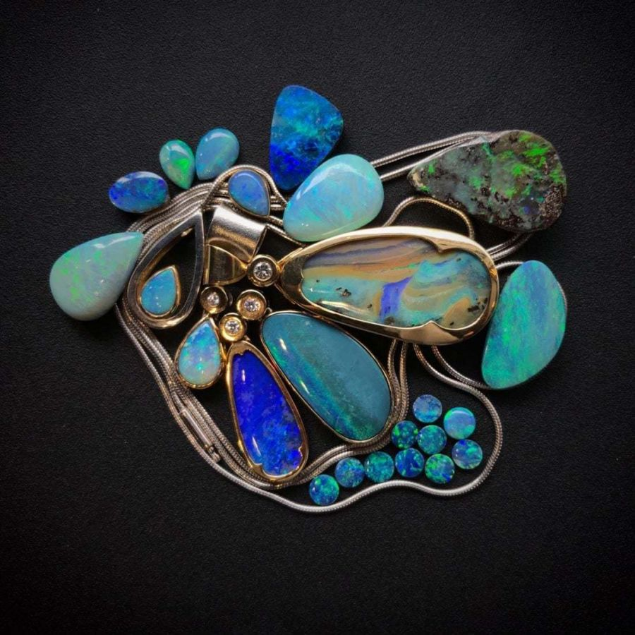 precious opals and opal jewelry