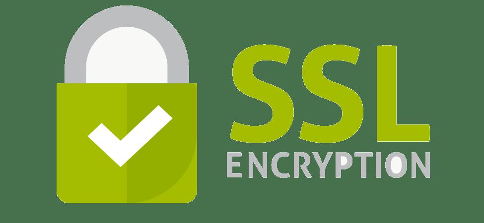 SSL encryption web security enabled